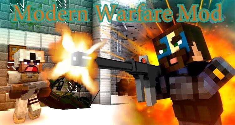Modern Warfare Mod 1.12.2/1.11.2 – Call Of Duty