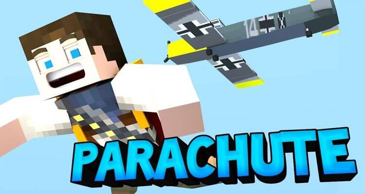 Parachute Mod 1.14.4/1.12.2 – SkyDiving in Minecraft