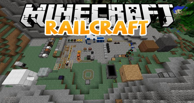 Railcraft Mod 1.12.2/1.10.2 – Rails, Carts, Tracks and Structures