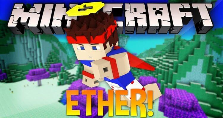 The Ether Mod 1.12.2/1.10.2 – Paradise in the Sky, Wings of the End