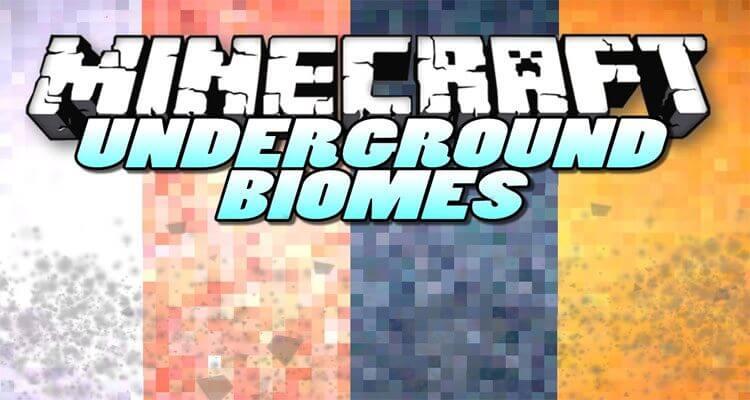 Underground Biomes Constructs Mod 1.12.2/1.11.2