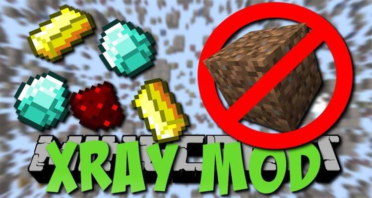 XRay Mod 1.14.4/1.12.2 – Fullbright, Cave Finder, Fly