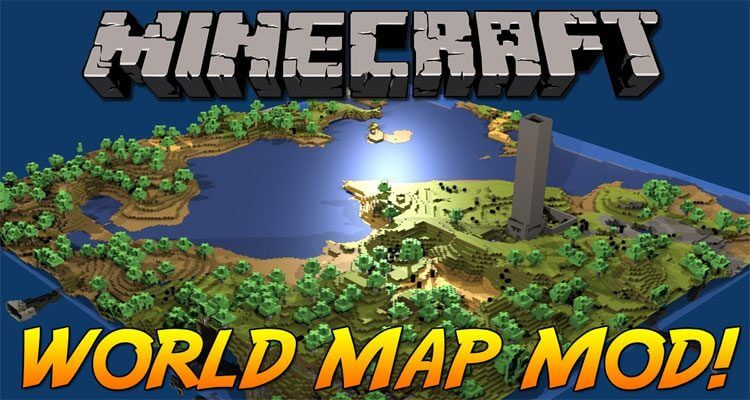 Xaero's World Map Mod 1.14.4/1.12.2 – Trace Your Footsteps