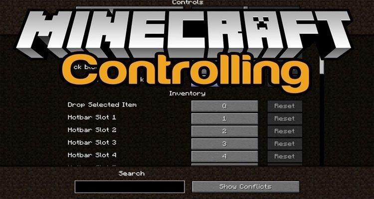 Controlling Mod 1.16.5/1.12.2/1.7.10