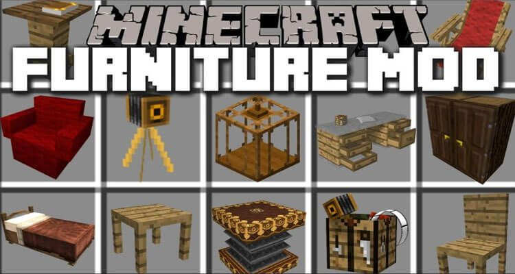 MrCrayfish's Furniture Mod 1.15.2/1.14.4/1.12.2