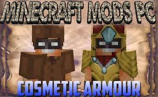 Cosmetic Armor Reworked Mod 1.15.2/1.14.4/1.13.2