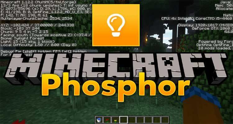 Phosphor Mod 1.16-Snapshot/1.15.2