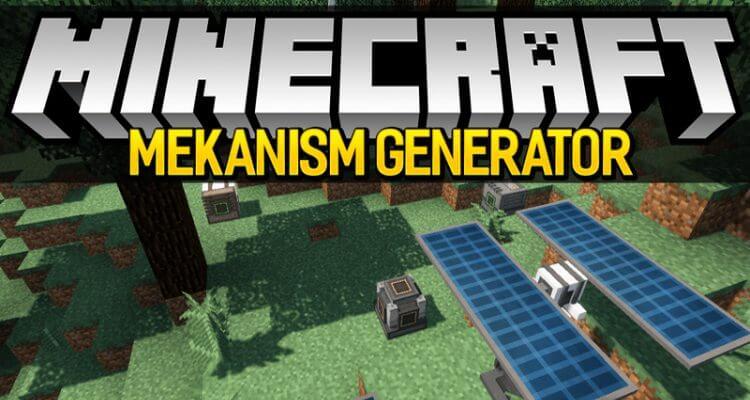 Mekanism Generators Mod 1.15.2/1.12.2/1.11.2