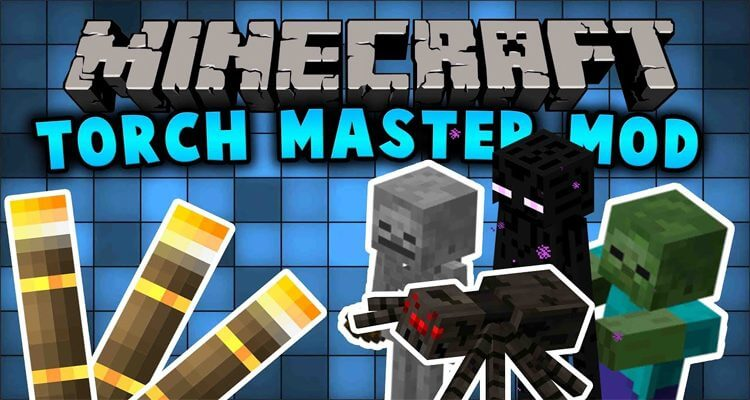 Torchmaster Mod 1.16.2/1.15.2/1.12.2