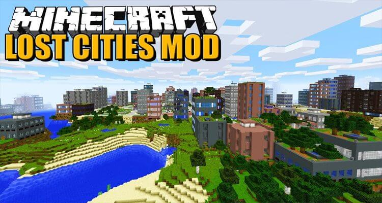 The Lost Cities Mod 1.15.2/1.14.4/1.12.2