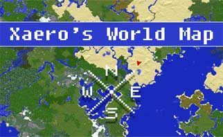 Xaero's World Map Mod 1.15.2/1.14.4/1.12.2
