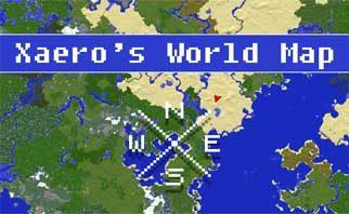 Xaero's World Map Mod 1.16.2/1.15.2/1.12.2