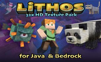 Lithos:Core 32x Resource Pack 1.16.2/1.15.2/1.14.4
