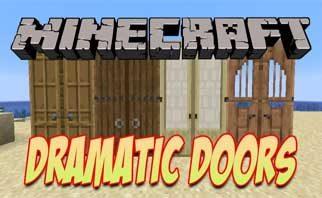 Dramatic Doors Mod 1.16.3/1.15.2/1.14.4