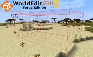 WorldEditCUI Forge Edition 3 Mod 1.16.5/1.15.2/1.12.2