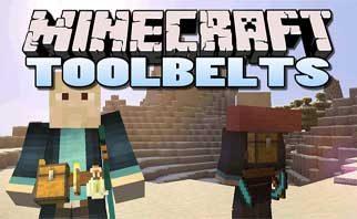 Tool Belt Mod 1.16.2/1.15.2/1.12.2