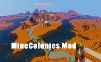 Minecolonies Mod 1.16.2/1.15.2/1.12.2