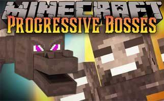 Progressive Bosses Mod 1.15.2/1.14.4/1.12.2