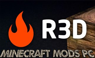 R3D CRAFT 128px Resource Pack 1.12.2/1.11.2/1.10.2