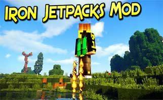 Iron Jetpacks Mod 1.16.2/1.15.2/1.12.2
