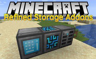 Refined Storage Addons Mod 1.15.2/1.14.4/1.12.2