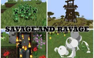 Savage & Ravage Mod 1.16.1/1.15.2