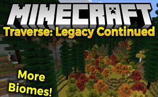 Traverse: Legacy Continued Mod 1.15.2/1.14.4/1.12.2