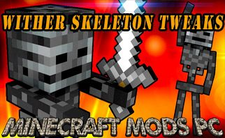 Wither Skeleton Tweaks Mod 1.16.2/1.15.2/1.12.2