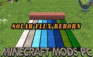 Solar Flux Reborn Mod 1.16.4/1.15./1.12.2