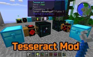 Tesseract Mod 1.16.4/1.15.2/1.12.2