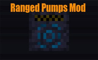 Ranged Pumps Mod 1.16.2/1.15.2/1.12.2