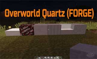 Overworld Quartz (FORGE) Mod 1.15.2