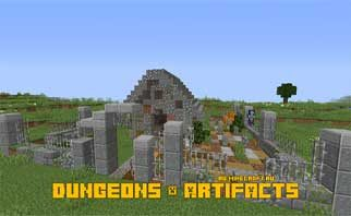 Dungeons & Artifacts Mod 1.15.2