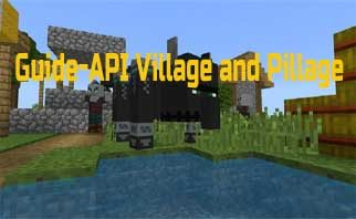 Guide-API Village and Pillage Mod 1.16.4/1.15.2/1.14.4