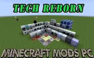 Tech Reborn Mod 1.16.2/1.12.2/1.7.10