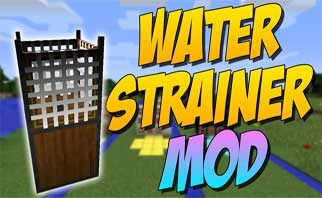 Water Strainer Mod 1.15.2/1.14.4/1.12.2