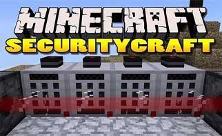 Security Craft Mod 1.15.2/1.14.4/1.12.2