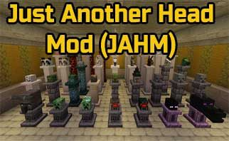 Just Another Head Mod (JAHM) 1.16.1/1.15.2