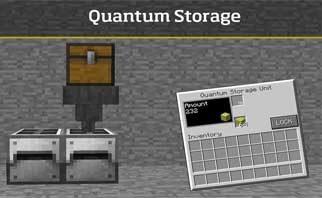 QuantumStorage Mod 1.16.1/1.15.2/1.12.2