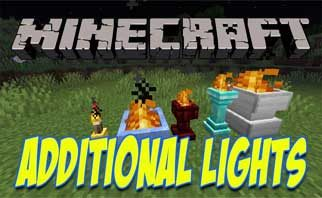 Additional Lights Mod 1.16.4/1.15.2/1.12.2