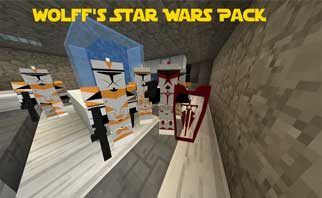 Wolff's Star Wars Pack for Flan's Mod 1.12.2/1.7.10