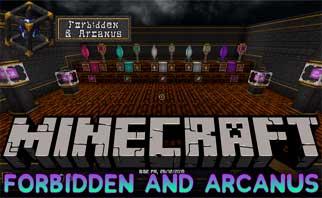 Forbidden and Arcanus Mod 1.16.1/1.15.2/1.12.2