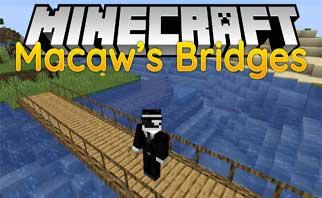 Macaw's Bridges Mod 1.16.2/1.15.2/1.12.2