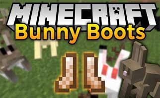 Bunny Boots Mod 1.16.2/1.15.2