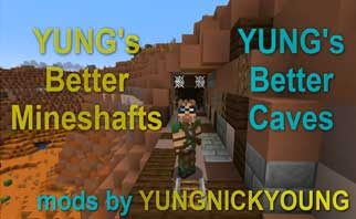 YUNG's Better Mineshafts (Forge) Mod 1.16.1/1.15.2/1.12.2