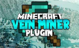 Vein Miner Bukkit Plugins 1.15/1.14/1.13