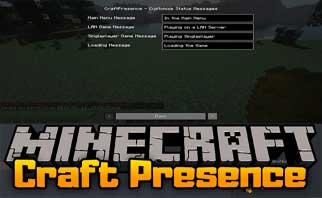 CraftPresence Mod 1.16.2/1.15.2/1.12.2