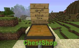 ChestShop (iConomyChestShop) Bukkit Plugins 1.16/1.15/1.14