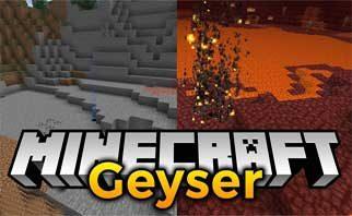 Geyser Mod 1.15.2/1.14.4