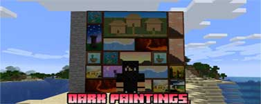 Dark Paintings Mod 1.16.2/1.15.2